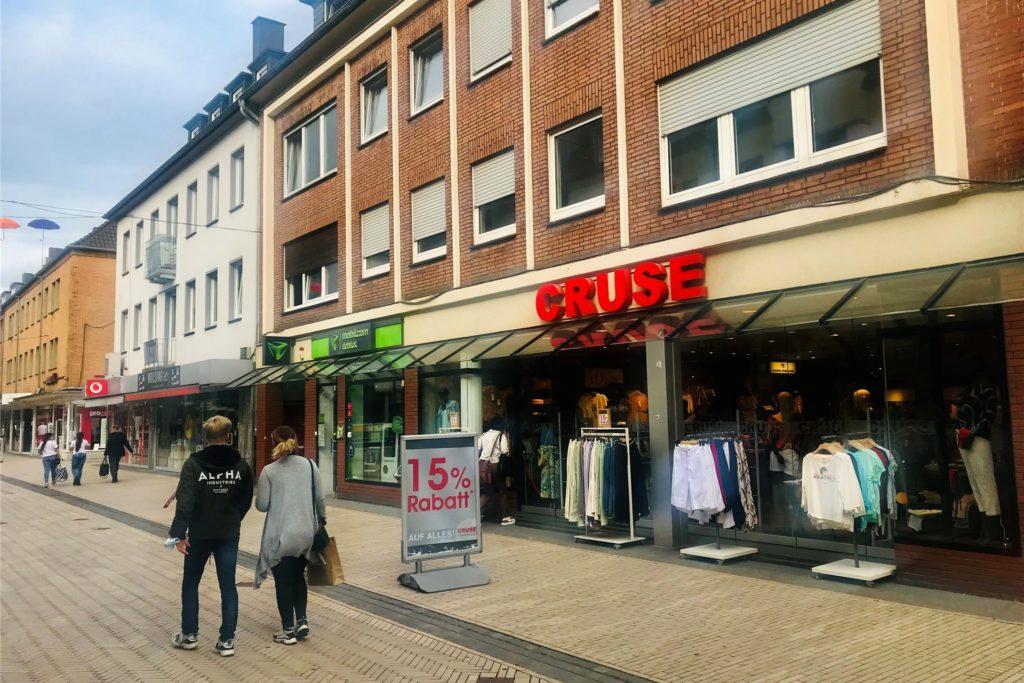 Wohn- und Geschäftshaus in der Altstadt von Dorsten