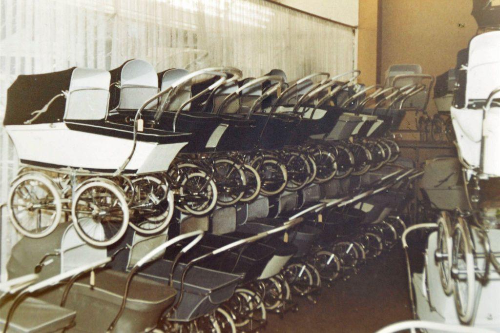 Kinderwagen wurden immer schon im Babyhaus Mönninghoff angeboten.
