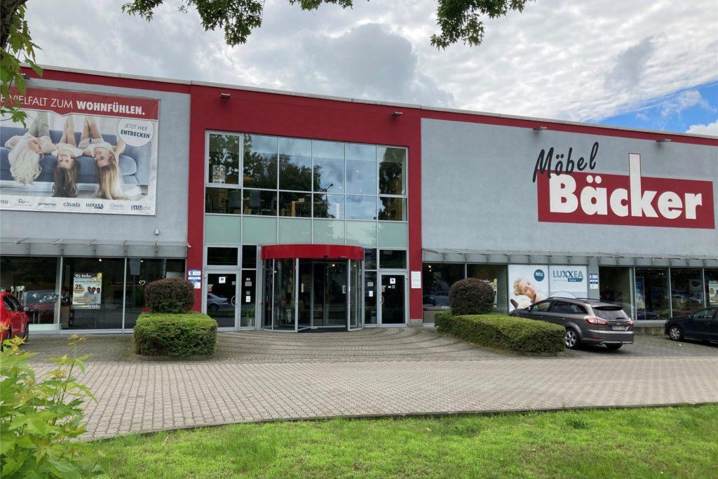 Seit 1997 gibt es die große Filiale von Möbel Bäcker an der Kamener Straße.