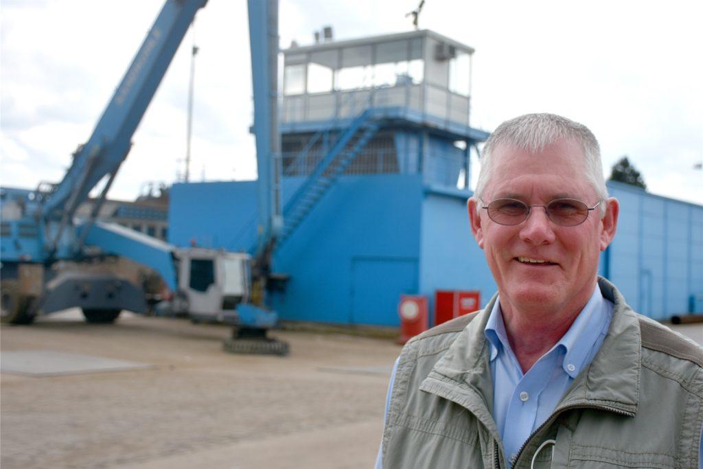 Bernhard Sandkuhle (62) führt das Unternehmen in dritter Generation. Die vierte Generation soll einmal übernehmen. Noch ist es aber längst nicht soweit.