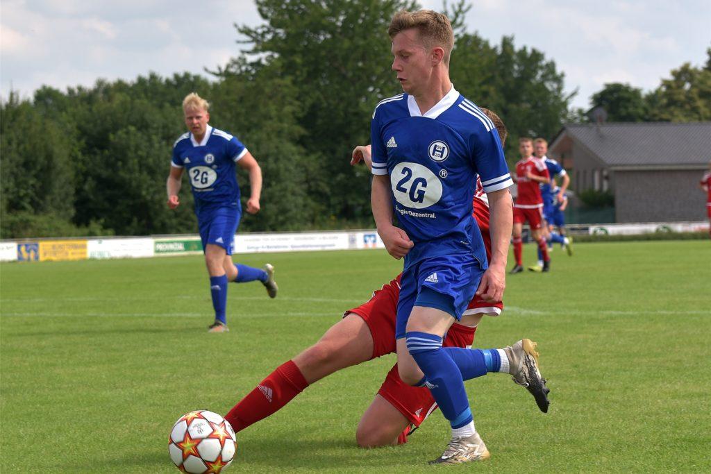 Ihr Testspiel gegen Eintracht Ahaus II haben der SV Heek und Tom Wenninghoff am Samstag gewonnen.