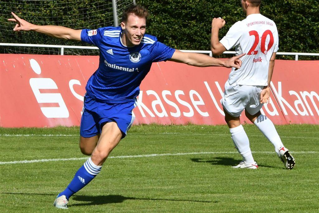 Sebastian Hahne wird künftig im Trikot des Lüner SV jubeln.