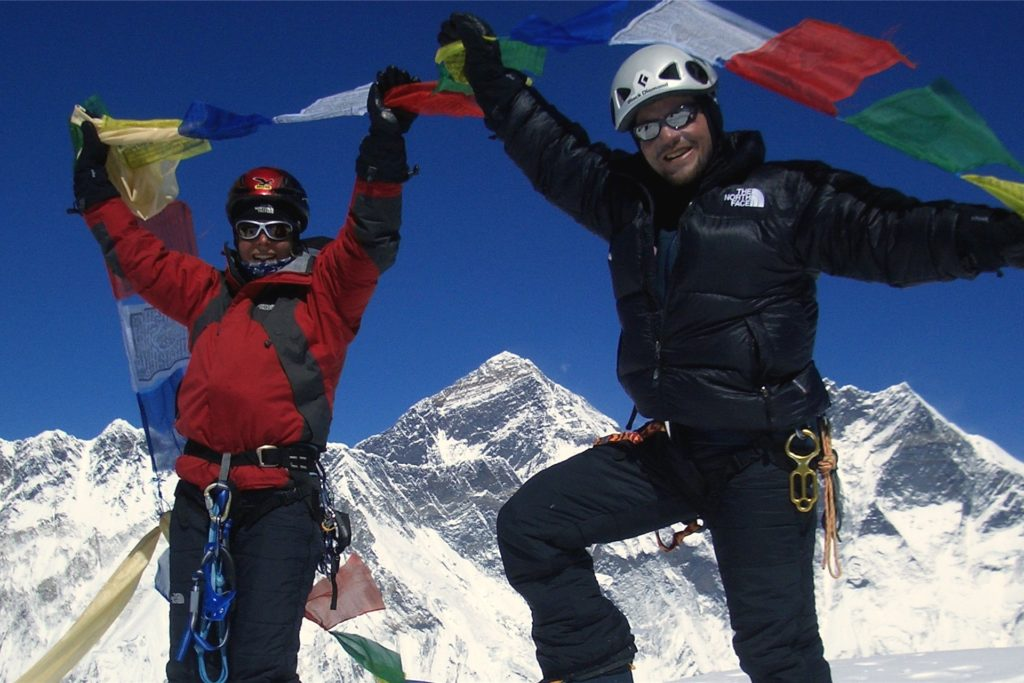 Regelmäßig waren bei Nelke Outdoor Bergsteiger, Naturentdecker & Co. zu Gast, um über ihre Abenteuer zu berichten.