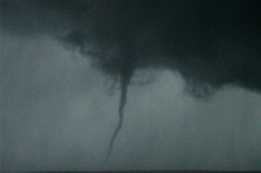 Ein Tornado in den USA.