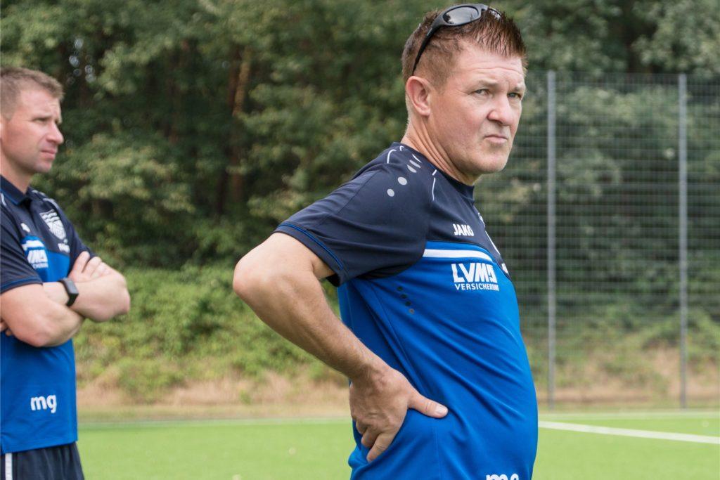 Michael Onnebrink ist Trainer von Concordia Flaesheim.