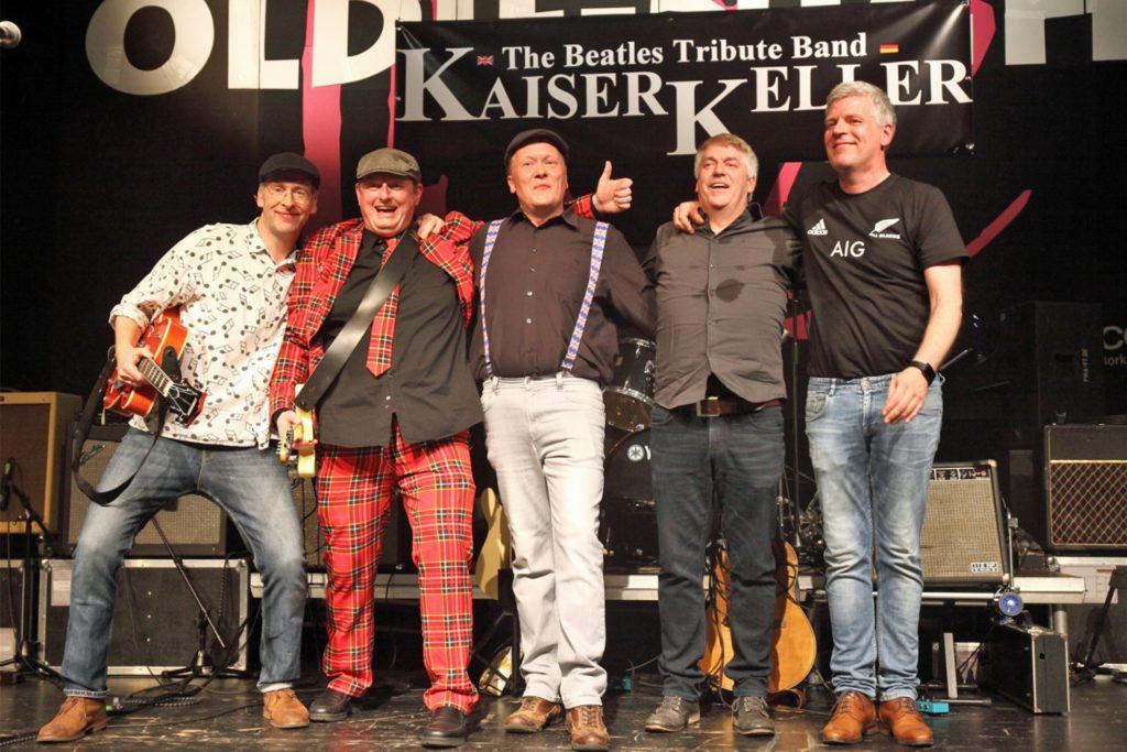 Die Band Kaiserkeller hat Initiative ergriffen, so wie viele Bürgerinnen und Bürger in Stadtlohn auch. Am Mittwochabend gibt die Beatles-Tribute-Band ein Konzert im Bahn Biergarten.