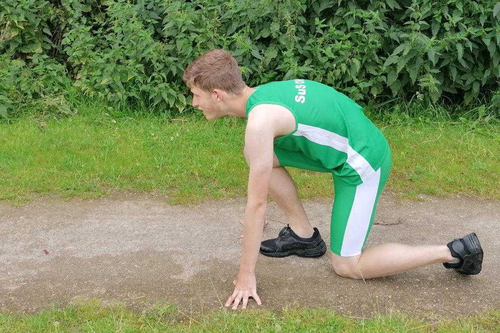 Sprinten gefällt dem jungen Athleten bisher am meisten.