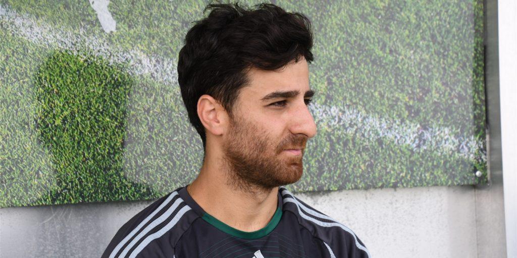 """Ein wenig bremst Stefan Kurtdili die Erwartungen: """"Wir sind immer noch eine zweite Mannschaft."""