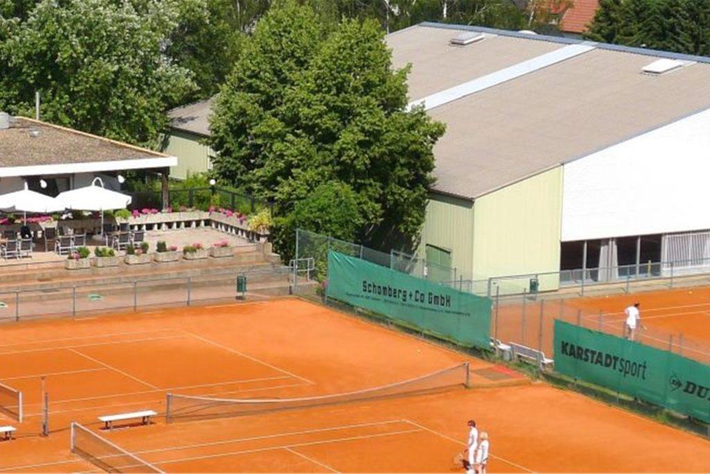 Auf der schönen Anlage des Hörder Tennisclubs findet das Benefiz-Turnier statt.