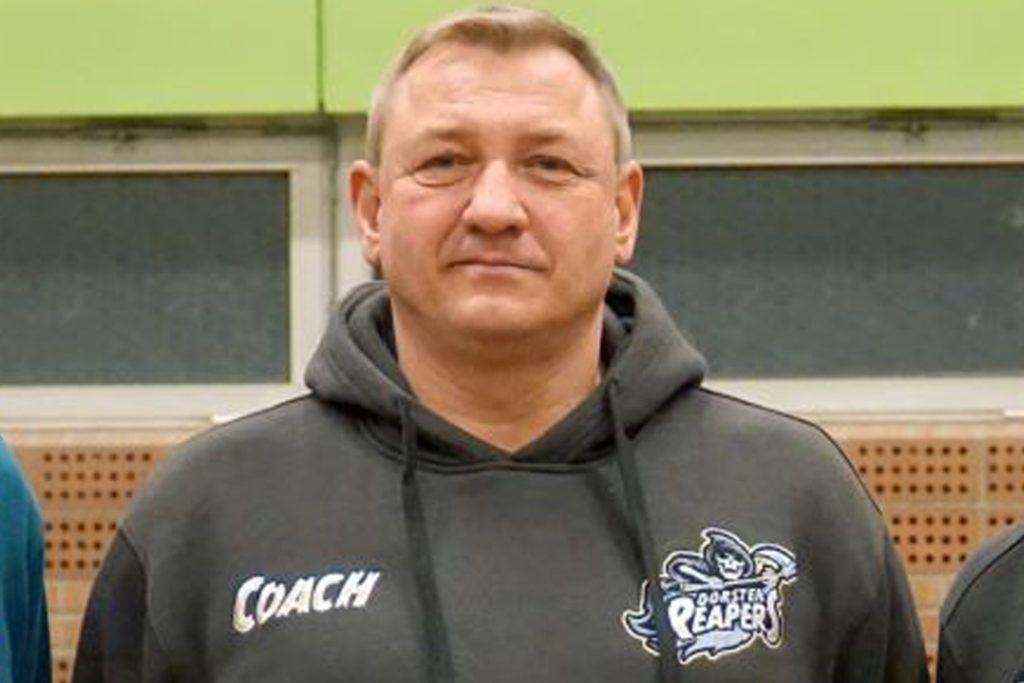Reapers-Headcoach Markus Spangenberg, fiebert dem ersten Spiel entgegen.