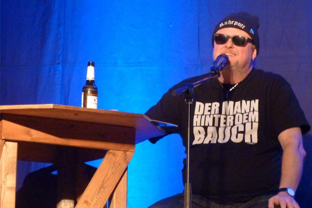 Markus Krebs überzeugt mit seinem Ruhrpott-Charme. Am 12. September soll er im Brauhaus auftreten.