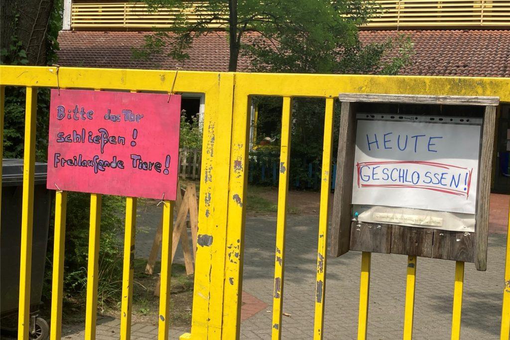 Der Abenteuerspielplatz bleibt erst einmal geschlossen - Indra Paas hofft, dass es in der kommenden Woche wieder Aktivitäten auf dem Platz geben wird.