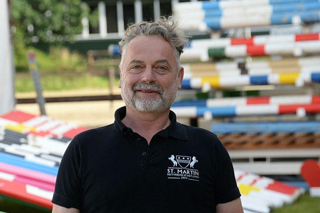 Markus Weber, der 1. Vorsitzende des RV St. Martin Stadtlohn