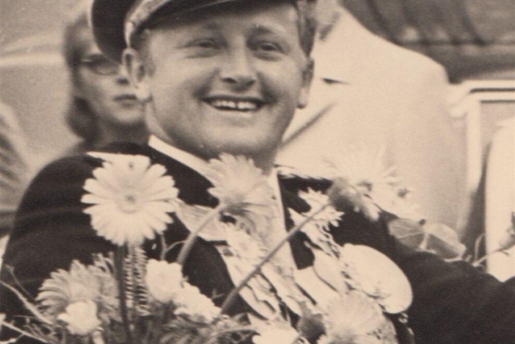 Heinrich Sommer wurde im Jahr 1970 Schützenkönig von Bork.