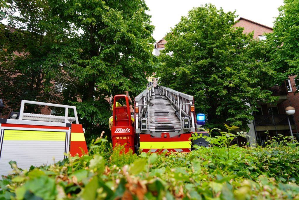 Den Grund für den Rauchmelder-Alarm konnte die Feuerwehr vor Ort nicht feststellen.