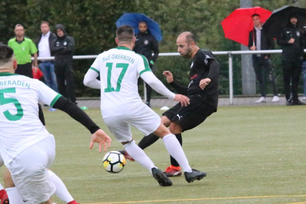 Salvatore Gambino spielte 2019 noch mit Westfalia Rhynern im Kreispokal beim SuS Oberaden.