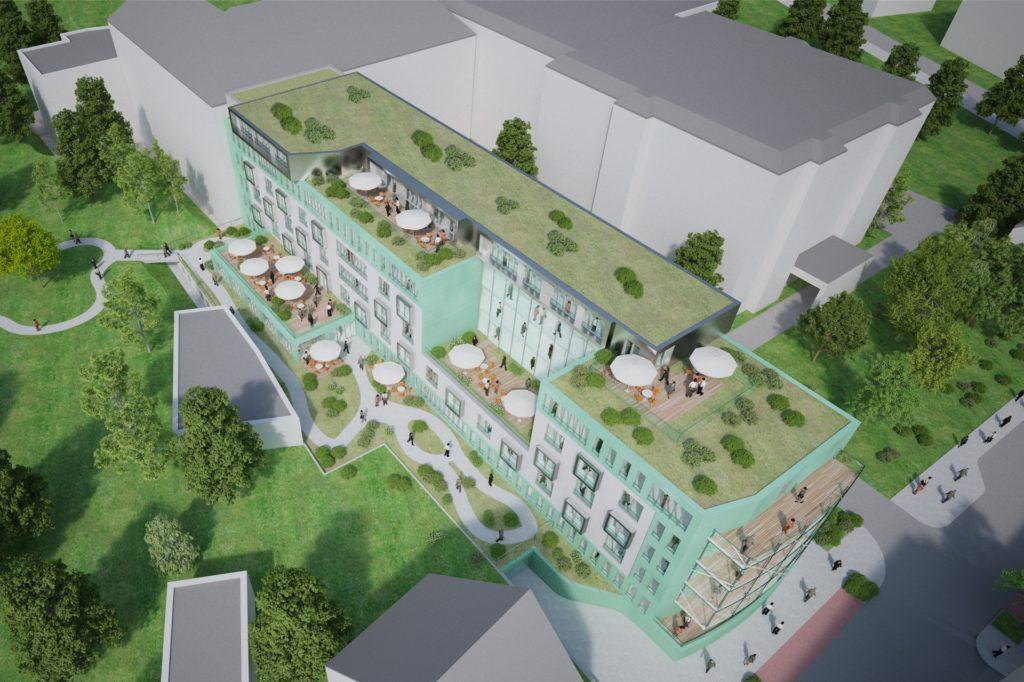 Die Planung für das Altstadt-Palais hat laut Investor weiter Bestand, hängt aber seit Jahren den Absichten hinterher.