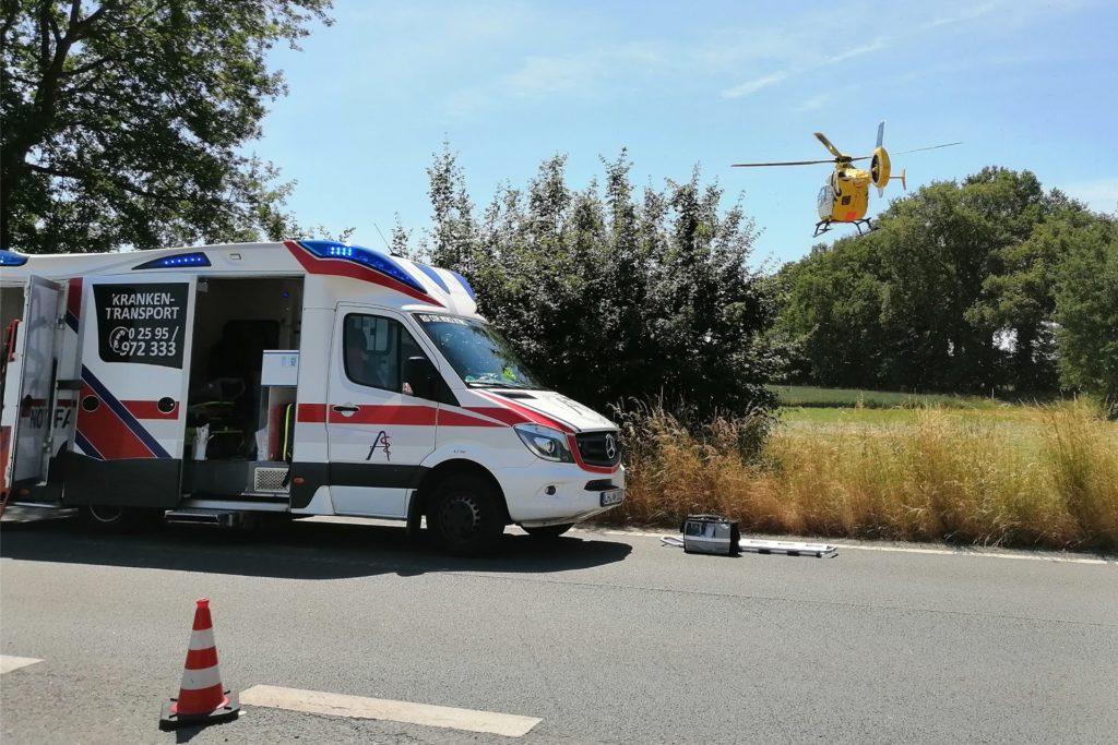 Zu Notfalleinsätzen rückt der Rettungswagen von Frank Dunsche vorerst nicht mehr aus.