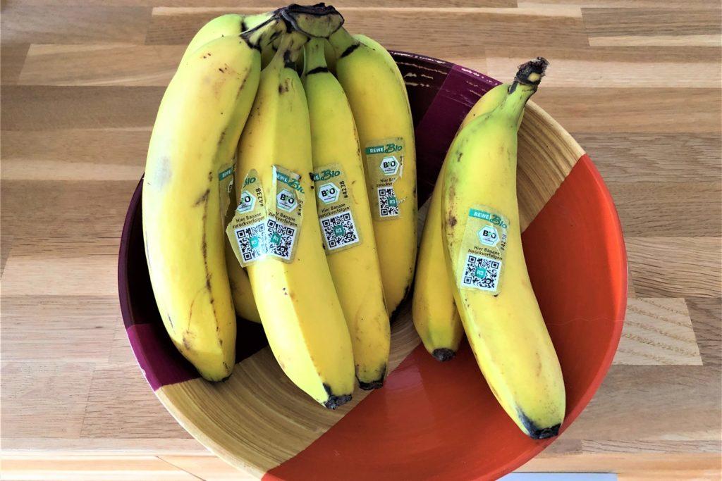 Die Online-Bestellung war komplett und fehlerfrei. Einig die Bananen waren nach unserem Geschmack etwas zu reif.