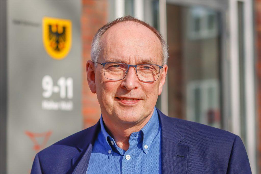 """""""Der Anteil von Migranten ist bei den Impfungen unterrepräsentiert"""", sagt Dr. Frank Renken, Leiter des Dortmunder Gesundheitsamtes."""