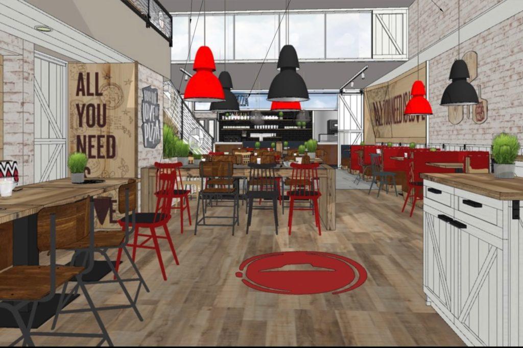 Erste Entwürfe zeigen, wie das Restaurant am Ostenhellweg frisch renoviert aussehen soll.