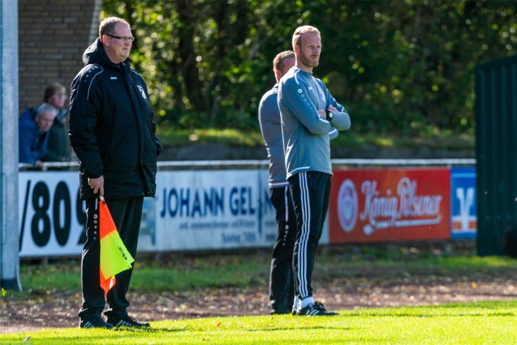 Jörk Krüchting ist mittlerweile auch als Trainer beim SC Südlohn aktiv.