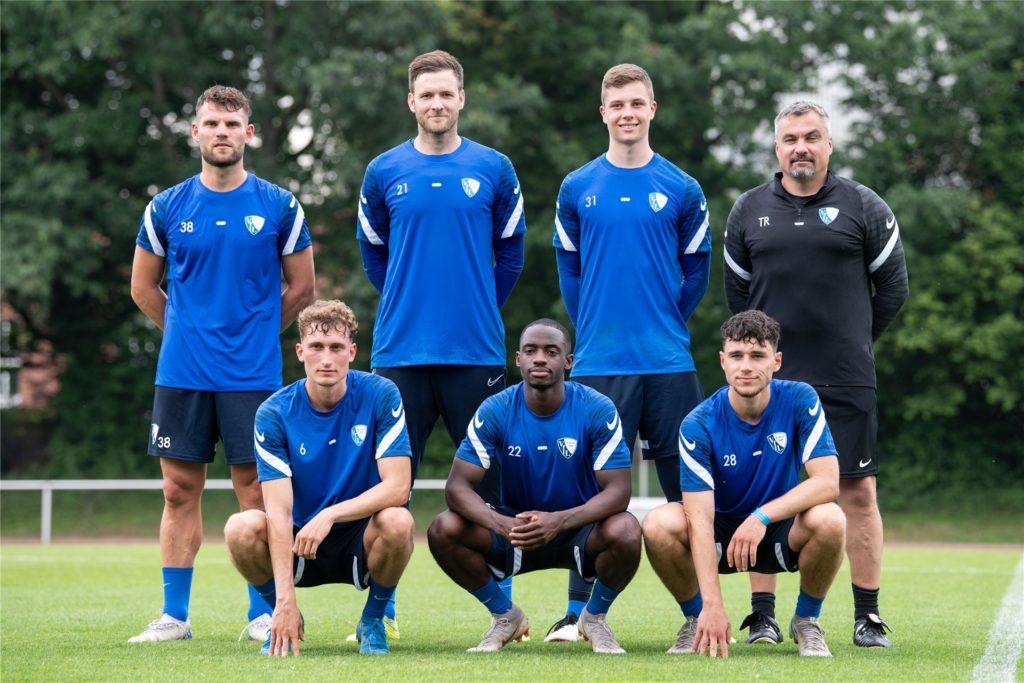 Im Team der Neuen beim VfL Bochum: Patrick Osterhage (vordere Reihe, links)