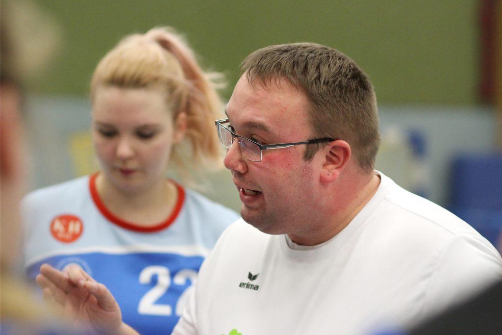 Fabian Schwenk trainierte die TVW-Handballerinnen bereits in der Vergangenheit.