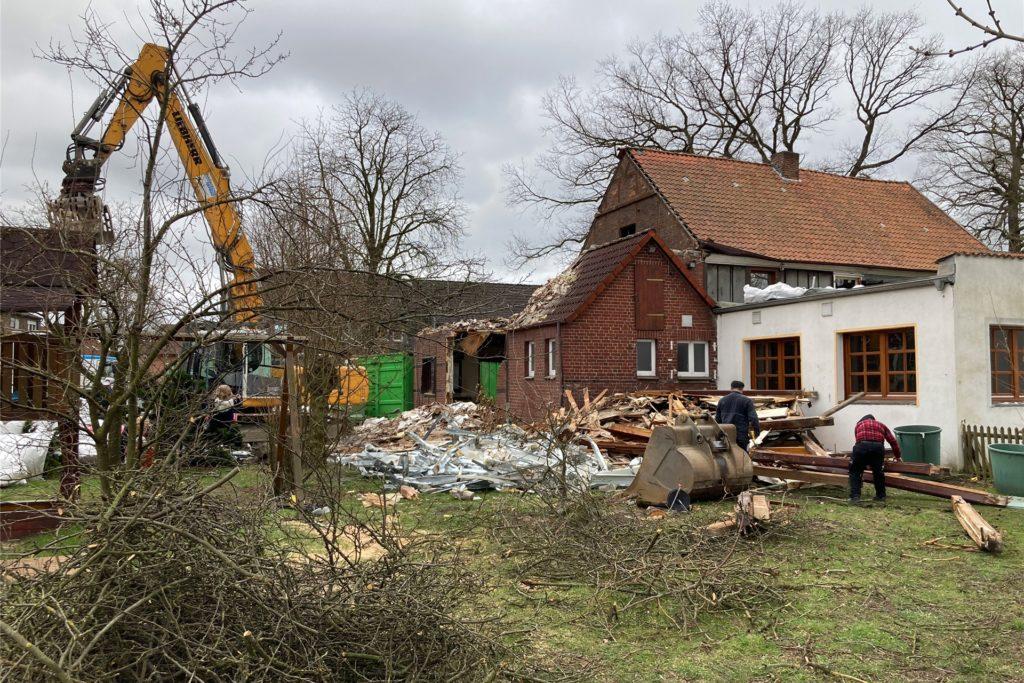 Das traditionsreiche Haus Bössing an der Laakstraße wurde im März diesen Jahres abgerissen.