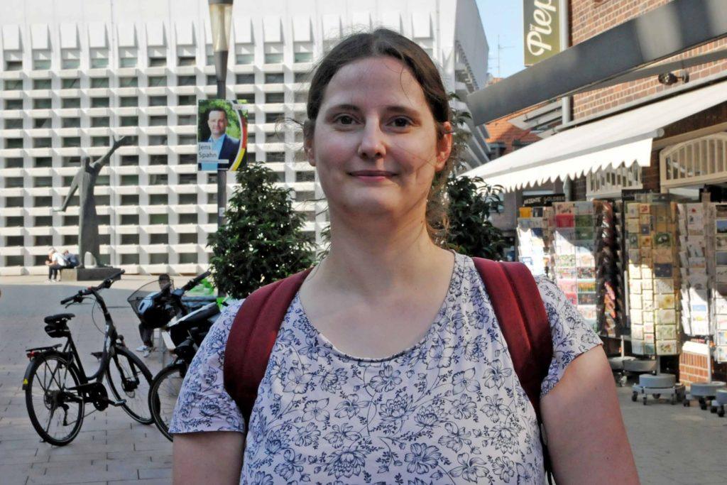 Lara Becking zahlte schon vor der Pandemie kontaktlos.