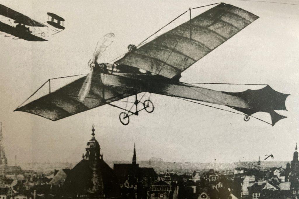 In Brackel landete so manches frühes Fluggerät.