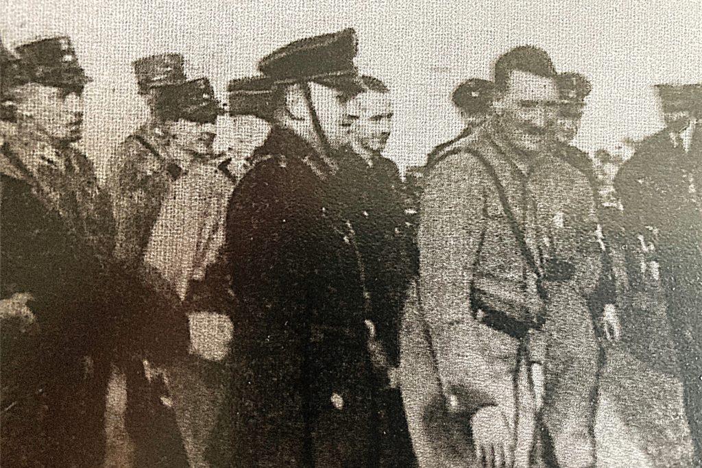 Adolf Hitler persönlich landete am dem Brackeler Flughafen.