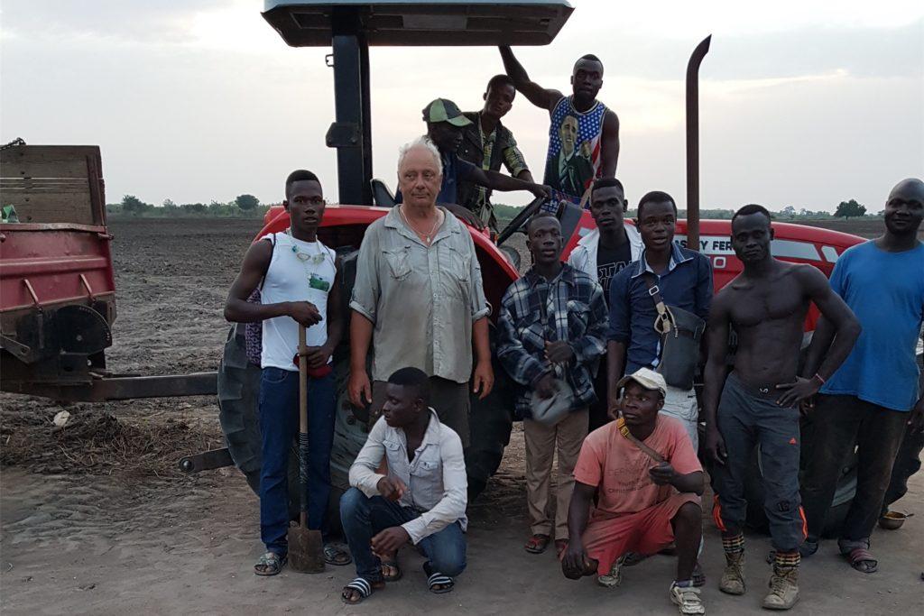 Die Resonanz seitens der Kleinbauern sei überwältigend, berichtet der Südlohner Landwirt.
