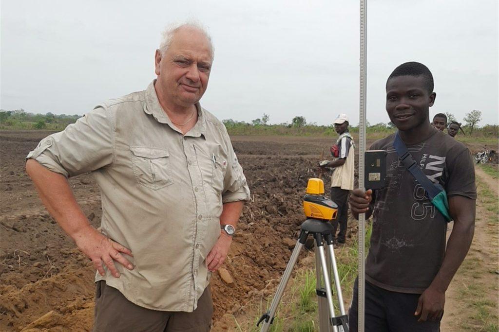 Die Landwirte vor Ort zeigten sich sehr aufgeschlossen und lernwillig.