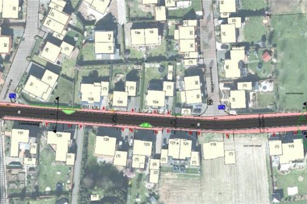 Der Straßenendbau Leuskesweg ist durchgeplant. Derzeit bereitet die Verwaltung die Ausschreibung der Arbeiten vor.