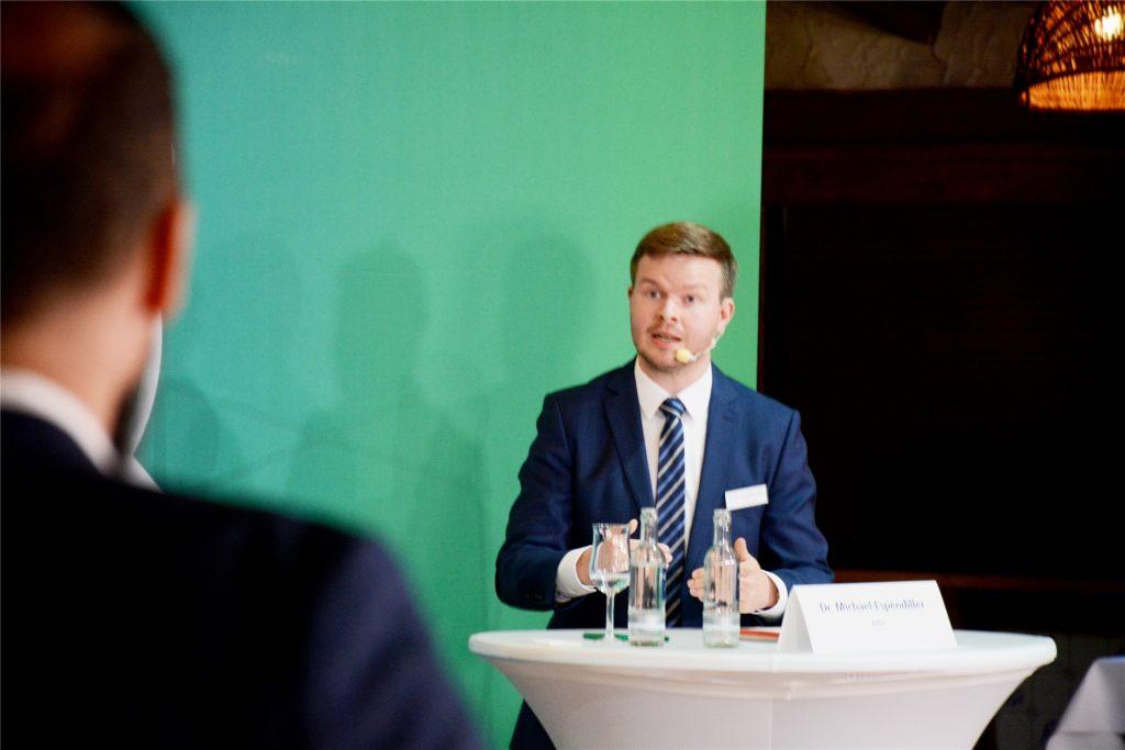 Sorgte für heftige Diskussionen bei der MZ-Wahlarena: Afd-Bundestagskandidat Michael Espendiller.