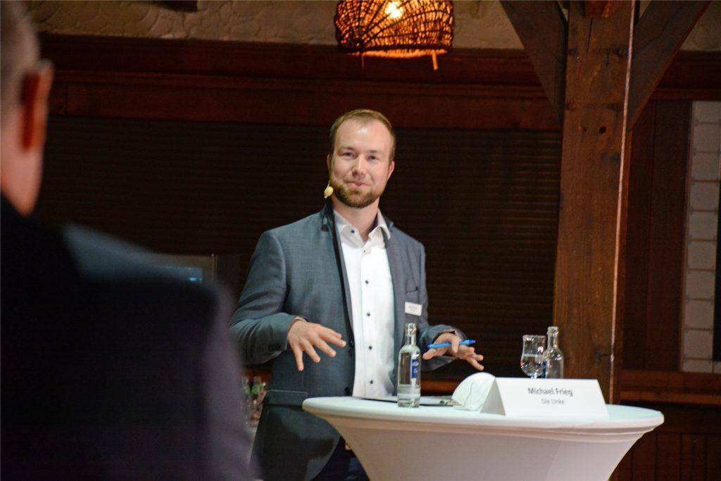 Michael Frieg tritt im Wahlkreis Borken II für die Linkspartei an.