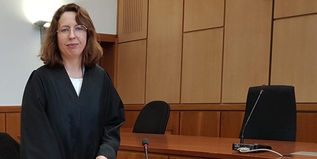 Kathrin Nunnemann verteidigt die Beschuldigte aus Castrop-Rauxel.