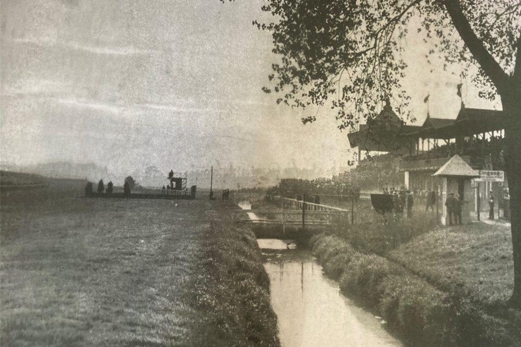 Die alte Rennbahn in Brünninghausen.