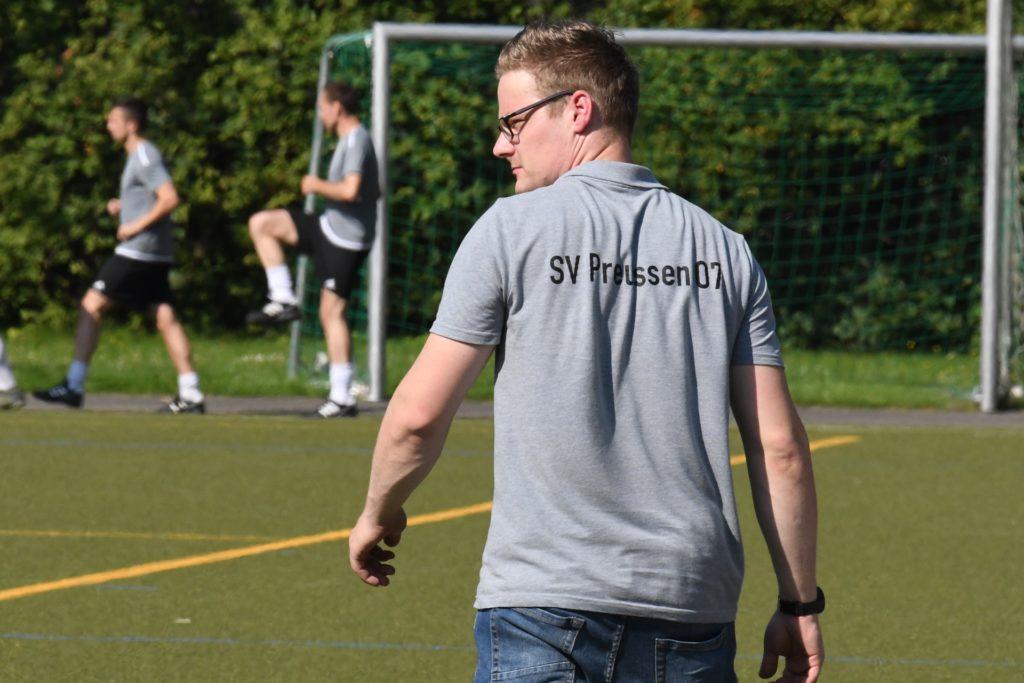 SVP-Trainer Patrick Höfig war vor allem von der zweiten Hälfte seiner Mannschaft enttäuscht.