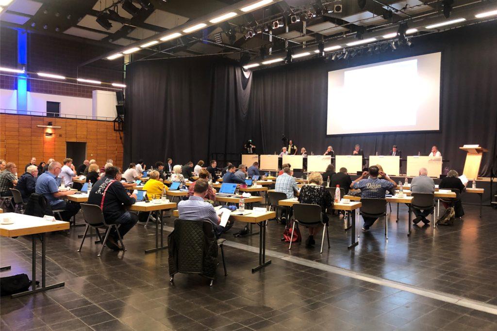 Der Rat bei seiner Sitzung am 2. September in der Europahalle.