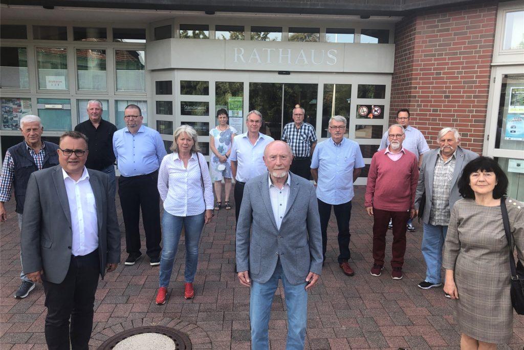 Der neue Seniorenbeirat der Gemeinde Schermbeck