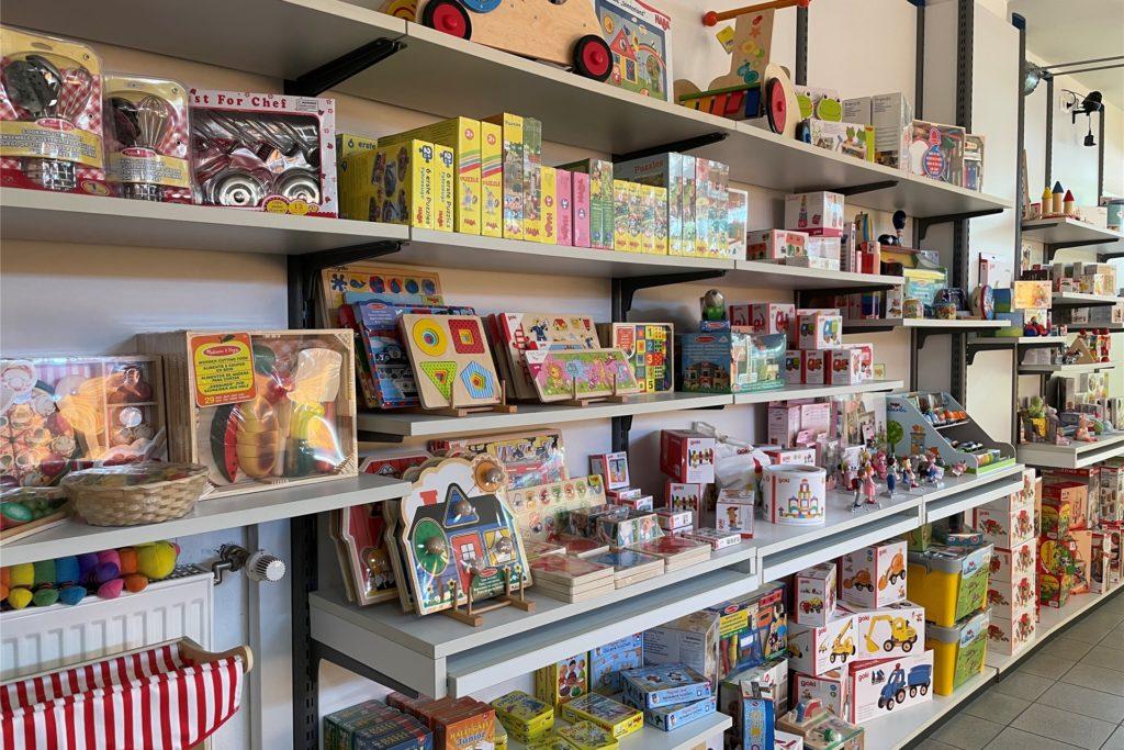 Die große Auswahl im Babyhaus Mönninghoff lässt jedes Kinderherz höher schlagen.