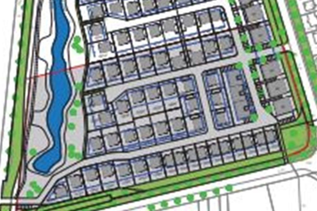 Das Neubaugebiet Pfingsfeld soll im Ortsteil Heek entstehen.Das