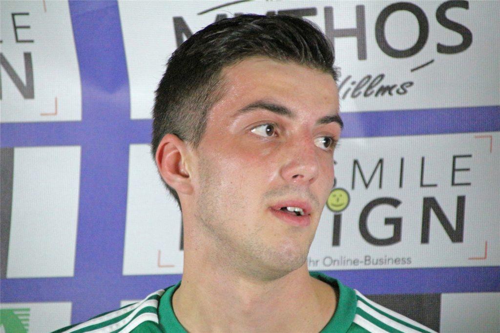 Cedric Knauer, Trainer der A-Jugend der SG Victoria/Sportfreunde.