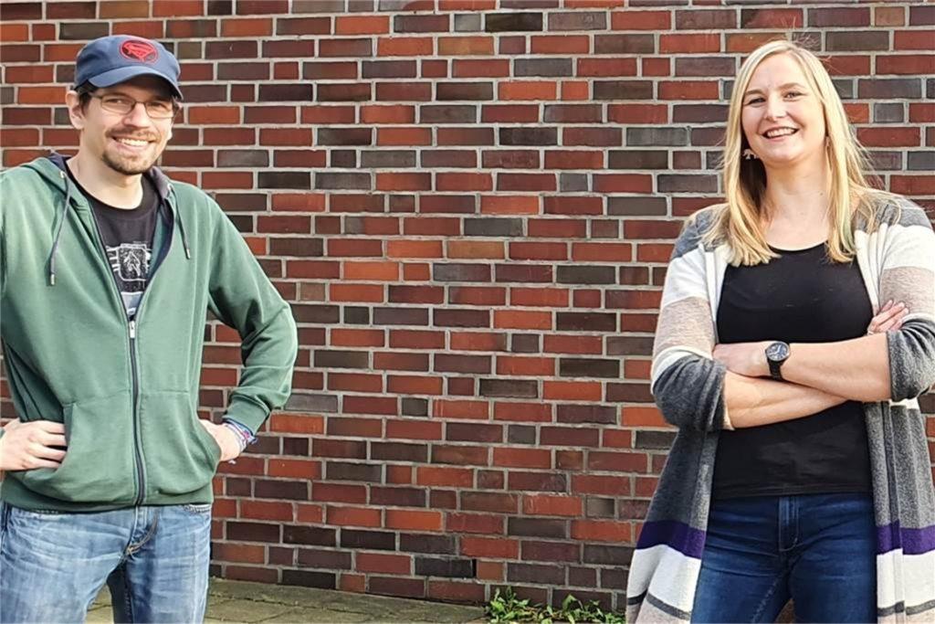 Vera Eßeling und Fabian Walke sind das Leiter-Duo vom Jugendhaus Zak