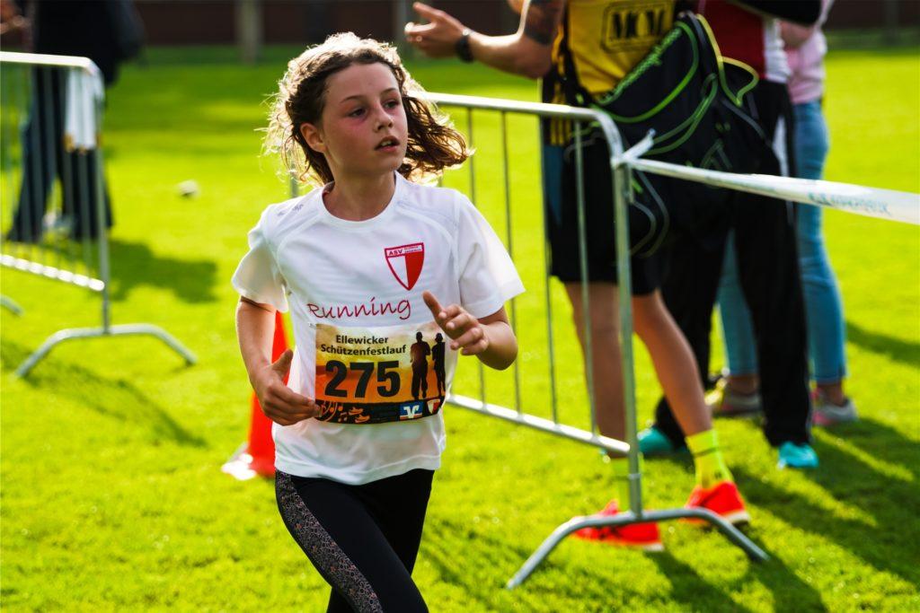 Einen Doppelsieg erzielte Heidi Schlüter (ASV Ellewick) über 1,5 und 5 Kilometer.