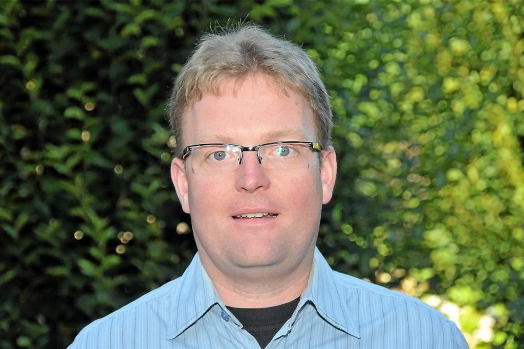 Mike Eilhardt, UWG-Vorsitzender und Ratsmitglied