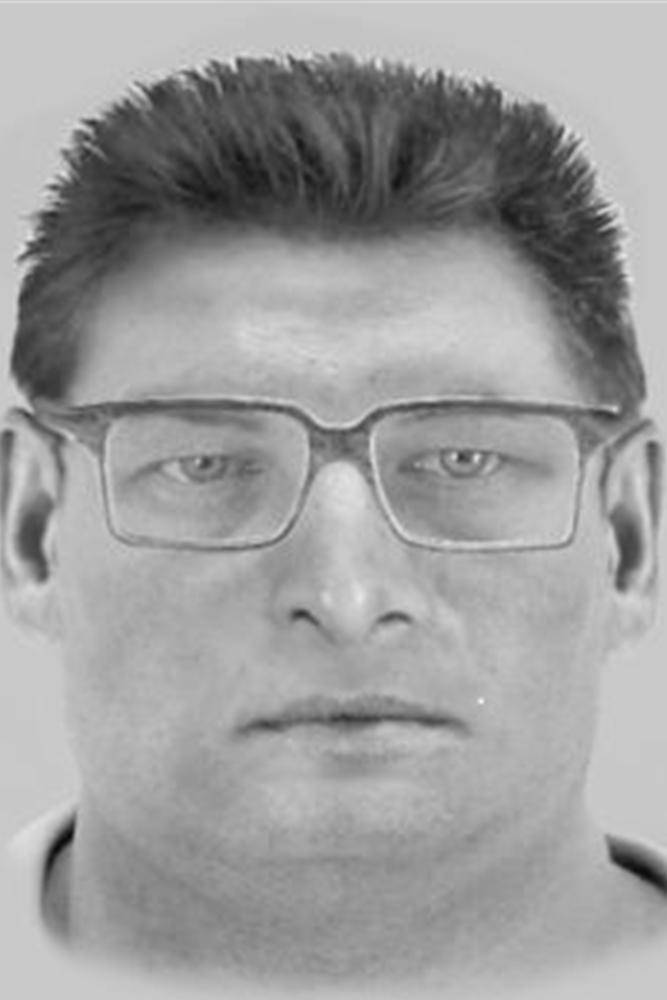Der unbekannte Täter soll zumindest zeitweise Brillenträger gewesen sein.
