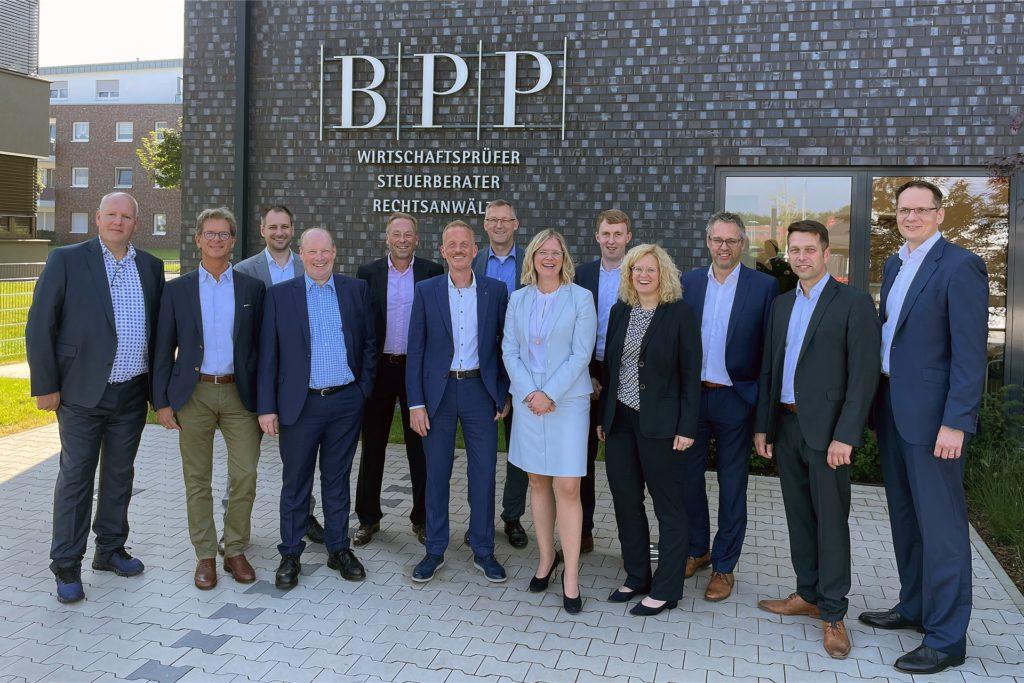 BPP Becker Patzelt Pollmann - Einweihung der Kanzlei auf dem ehemaligen Zechengelände Fürst Leopold.